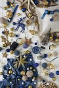 Christbaumkugel Lena Blau - Blau, Glas (8cm) - Mömax modern living