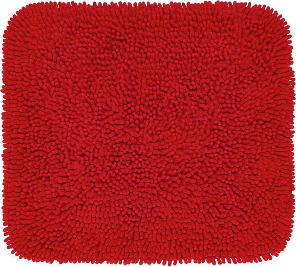 Badematte Jenny ca. 50x50cm - Rot, Textil (50/50cm) - MÖMAX modern living