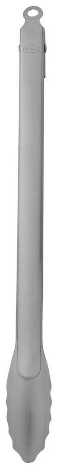 Grillzange Rösle - Edelstahlfarben, MODERN, Metall (46,5/7,5/3,2cm) - Rösle
