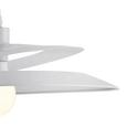 Hängeleuchte max. 40 Watt 'Angelo' - Weiß, MODERN, Metall (48/113cm) - Bessagi Home