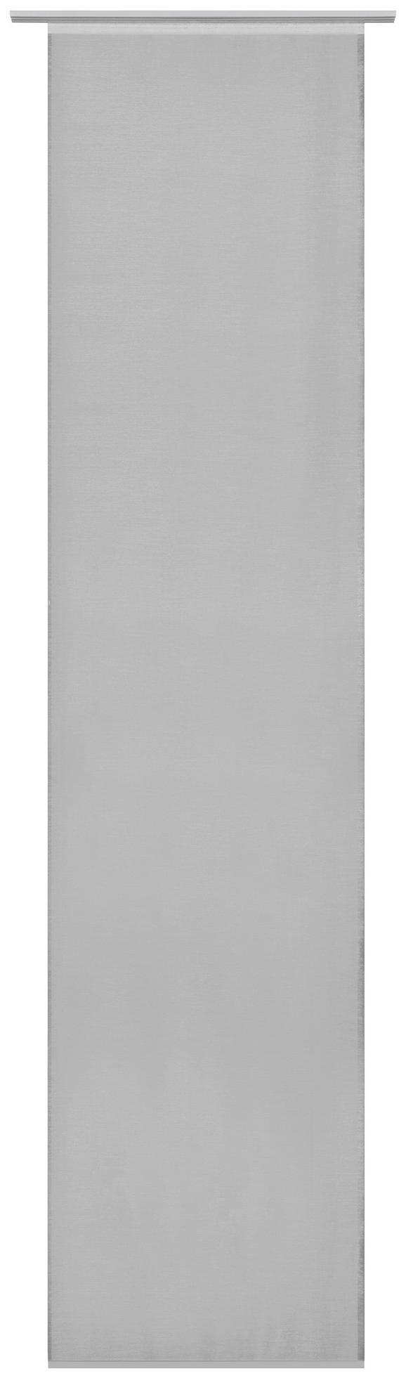 Lapfüggöny Uni - szürke, modern, textil (60/245cm) - MÖMAX modern living