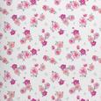 Bettwäsche Millefleure Wende ca.135x200cm - Rosa, ROMANTIK / LANDHAUS, Textil (135/200cm) - Mömax modern living