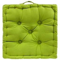 Boxkissen Ninix  Grün ca. 40x40x10cm - Grün, Textil (40/40/10cm) - Mömax modern living