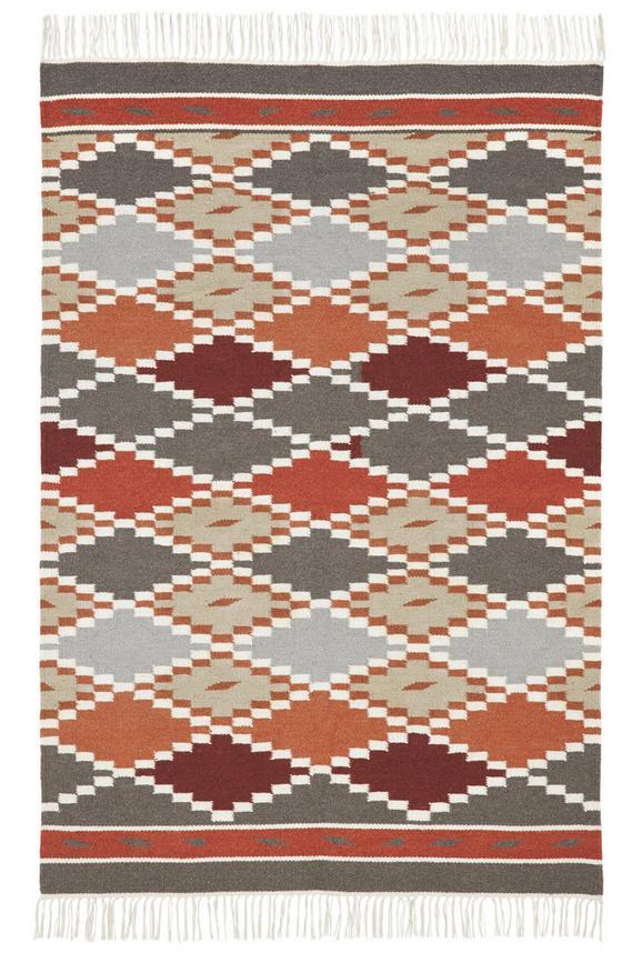 Teppich Kelim Aladin ca.80x150cm - Multicolor, KONVENTIONELL, Textil (80/150cm) - Premium Living