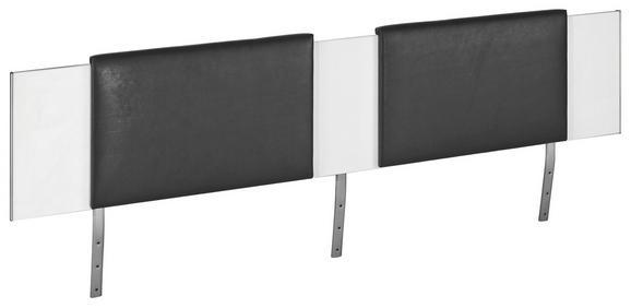 Oblazinjen Del Za Vzglavje Belia - črna, Konvencionalno, tekstil (60/38.4/3.8cm) - Mömax modern living
