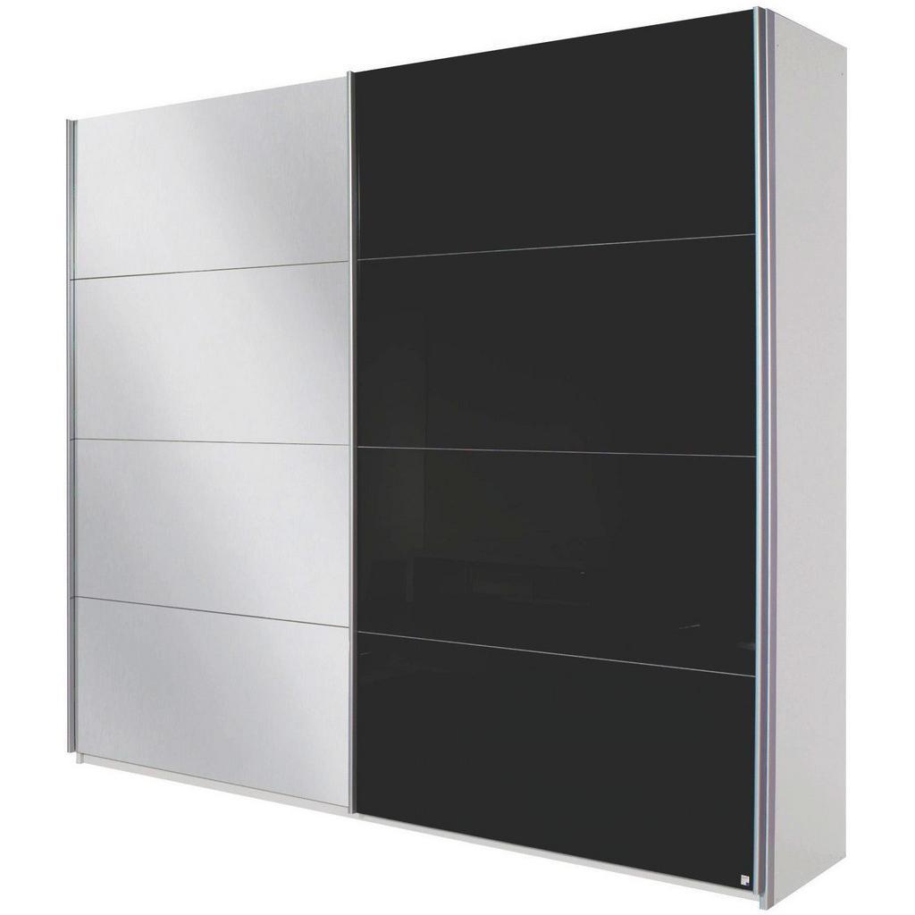schwebet renschrank wei schwarz willisbeachresort. Black Bedroom Furniture Sets. Home Design Ideas