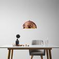 Hängeleuchte max. 60 Watt 'Kupari' - Kupferfarben, Kunststoff/Metall (40/40/150cm) - Bessagi Home