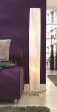 Stoječa svetilka Agnes - bela, Romantika, kovina/tekstil (119/14/14cm) - Mömax modern living