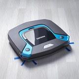 Staubsaugerroboter Smart Pro Easy inkl. Wischfunktion - Blau/Schwarz, MODERN, Kunststoff/Metall (30/30/5,8cm) - Philips
