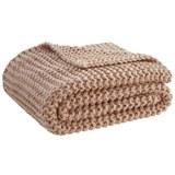 Kuscheldecke Emily Rosa 110x160cm - Rosa, ROMANTIK / LANDHAUS, Textil (110/160cm) - Premium Living