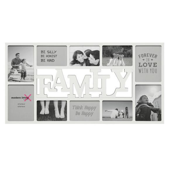 Okvir Za Slike Alfred -top- - bela, Moderno, karton/umetna masa (73/37/2cm) - Mömax modern living