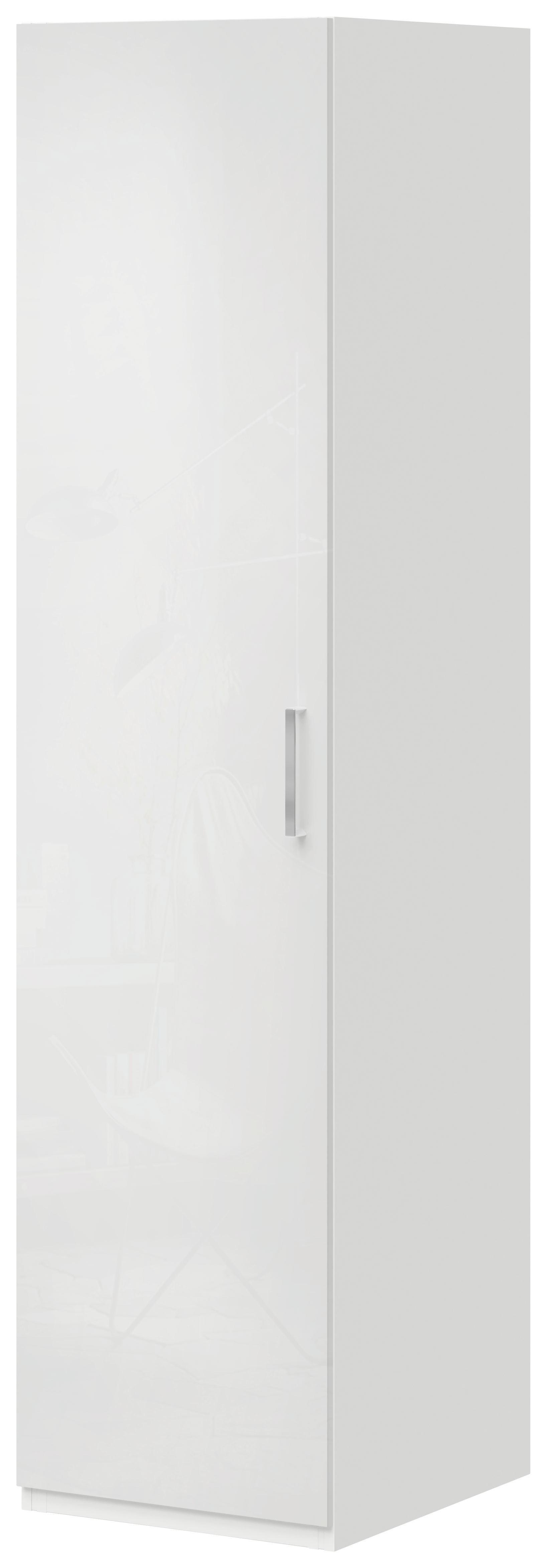 Kleiderschrank In Weiß   Weiß, MODERN, Holz (50/144/57cm)