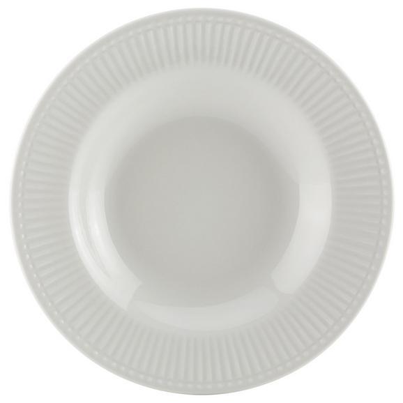 Farfurie Adâncă Celina - alb, Romantik / Landhaus, ceramică (22/3cm)