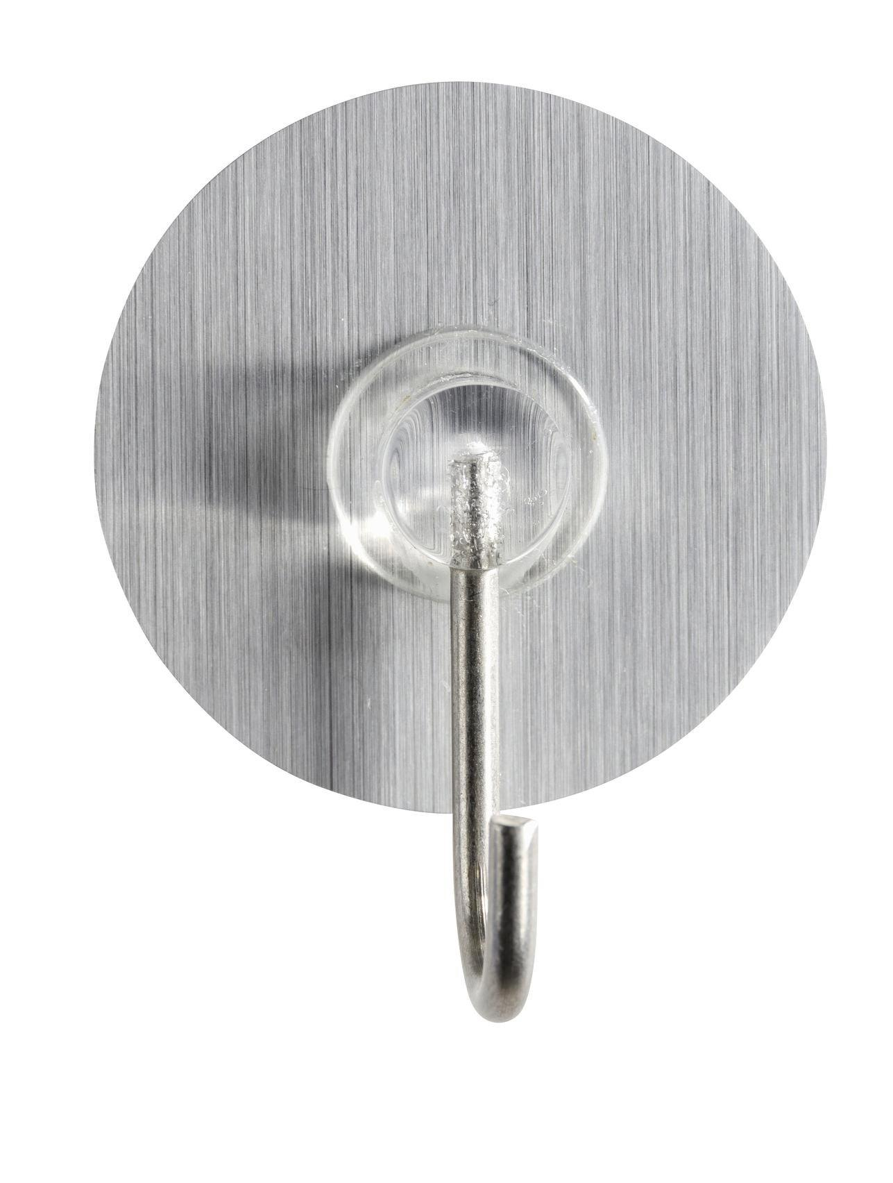 Wandhaken in Silberfarben - Silberfarben, MODERN, Kunststoff (3,8cm) - MÖMAX modern living