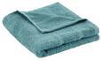 Handtuch Melanie Aqua 50x100 cm - Türkis, Textil (50/100cm) - Mömax modern living