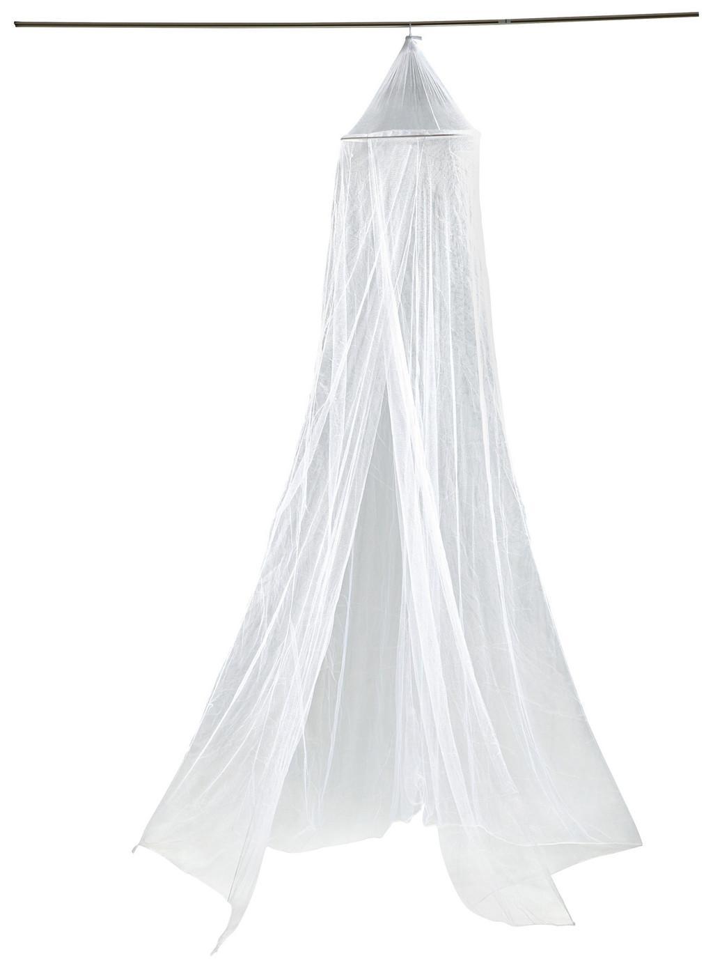 Moskitonetz in Weiß