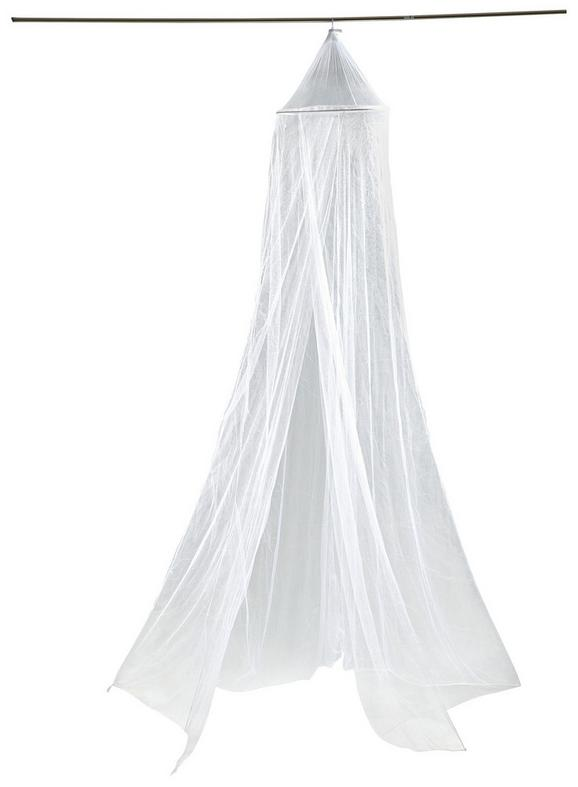 Moskitonetz Weiß - Weiß, Textil (60/1250/250cm) - Mömax modern living
