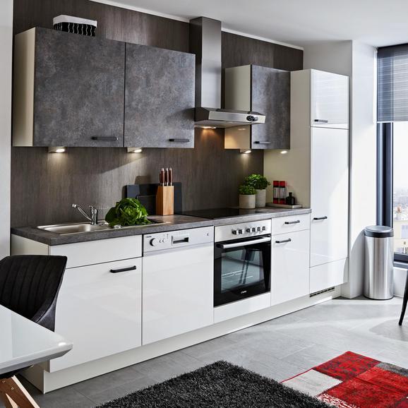 Küchenblock Flash/Colorconcept Grau/Weiß