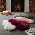 Ovčja Koža Emma Hellgrau 60x45cm - vijolična, tekstil (60/45cm) - Mömax modern living