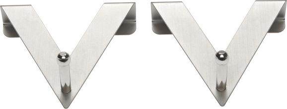 Kaveljček Harry - srebrna, kovina (7/8/2cm) - Mömax modern living