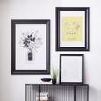 Rame Foto Laetitia - negru, lemn (60/90cm) - Premium Living