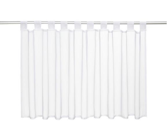 Kurzgardine Hanna in Weiß, ca. 145x50cm - Weiß, Textil (145/50cm) - Mömax modern living