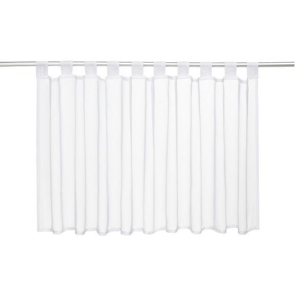 Kurzgardine Hanna Weiß ca. 145x50cm - Weiß, Textil (145/50cm) - Mömax modern living