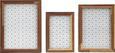 Bilderrahmen Woody in Braun, ca. 12x17cm - Braun, Glas/Holz (12/17/3cm) - MÖMAX modern living