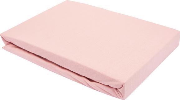 Spannleintuch Basic in Rosa, ca. 150x200cm - Rosa, Textil (150/200cm) - Mömax modern living