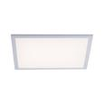 LED-DECKENLEUCHTE LOLASMART-FLAT - Weiß, MODERN, Kunststoff/Metall (45/45/5,6cm)