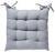 Sitzkissen Bill Grau 40x40cm - Grau, Textil (40/40cm) - Mömax modern living