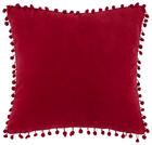 Okrasna Blazina Pompon - rdeča, tekstil (45/45cm) - Mömax modern living