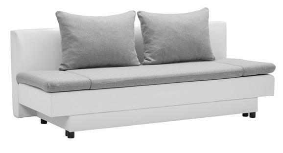 Schlafsofa Modern schlafsofa weiß grau mit bettkasten kaufen mömax
