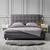 Bett Frederico ca.180x200cm - Hellgrau, MODERN, Holz/Textil (215/189/113cm) - Modern Living