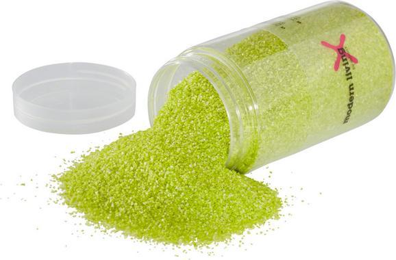 Dekosand In Apfelgrün - Hellgrün, Weitere Naturmaterialien (0,350l) - Mömax modern living