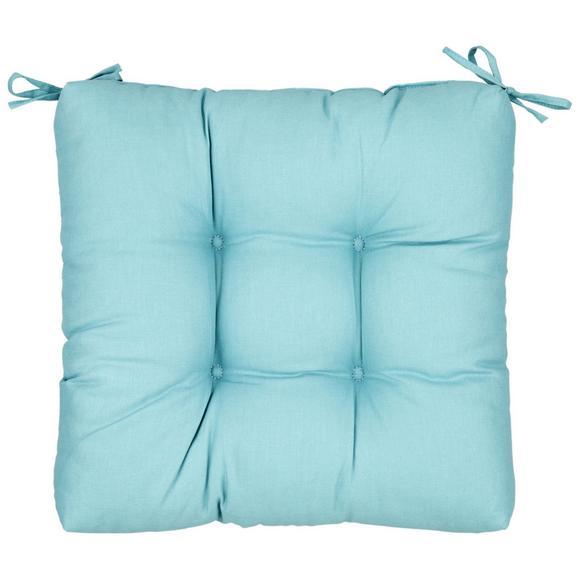 Sedežna Blazina Elli -top- - modra, tekstil (40/40/7cm) - Based