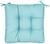 Sitzkissen Elli Blau 40x40x7cm - Blau, Textil (40/40/7cm) - Based