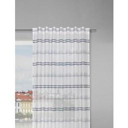 Fertigvorhang Louis Weiß/Jade 140x245cm   Jadegrün/Weiß, KONVENTIONELL,  Textil (140