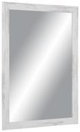 Wandspiegel Braun/Weiß 50x70cm - Braun/Weiß, MODERN, Glas/Holzwerkstoff (50/70cm)