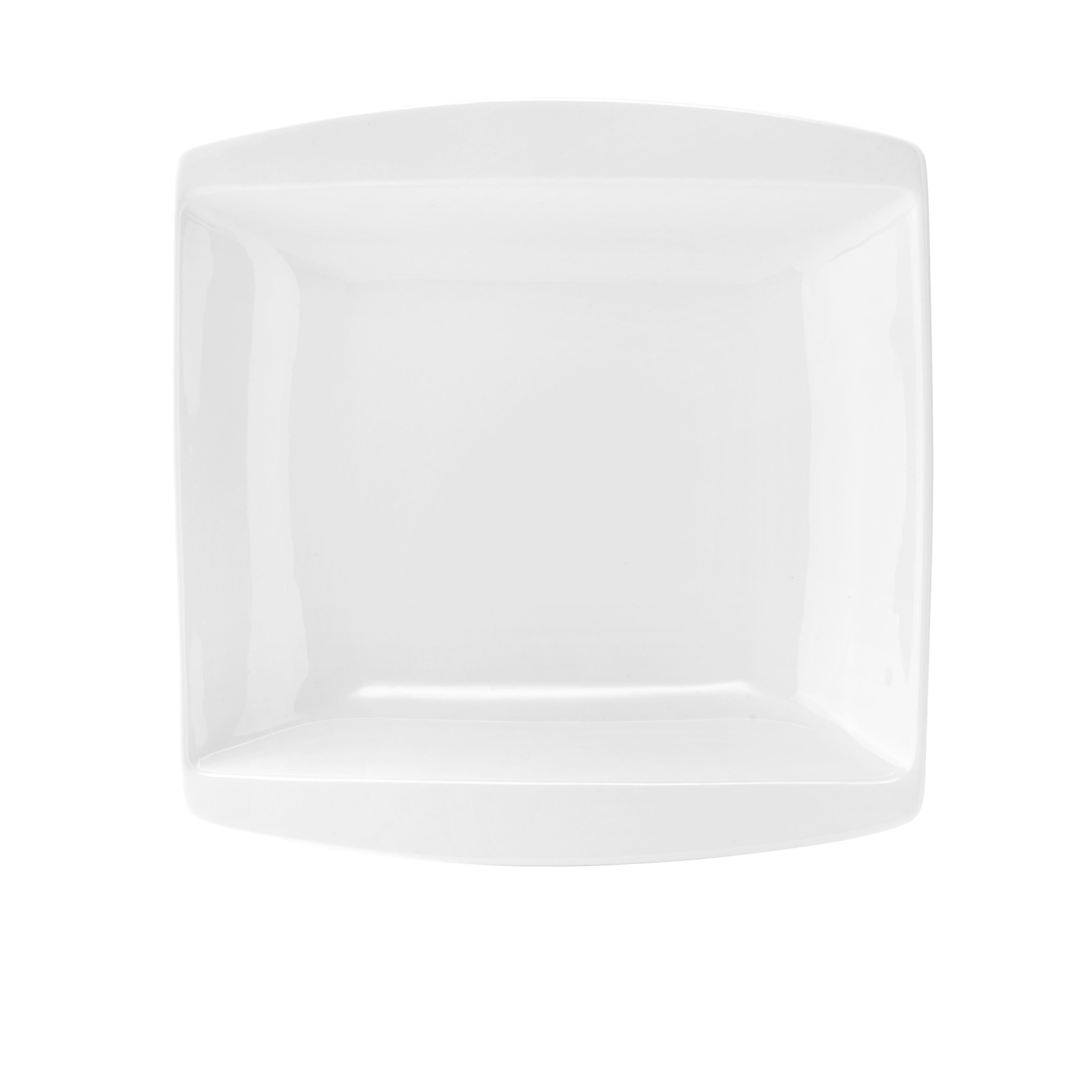 Suppenteller Pura in Weiß - Weiß, LIFESTYLE, Keramik (20,4/20,4cm) - MÖMAX modern living