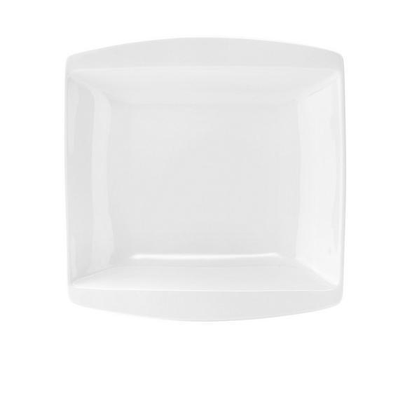Suppenteller Pura in Weiß - Weiß, LIFESTYLE, Keramik (20,4/20,4cm) - Premium Living