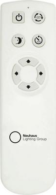 Stropna Led-svetilka Jupiter - bela, Moderno, kovina/umetna masa (60/11,5cm) - Mömax modern living