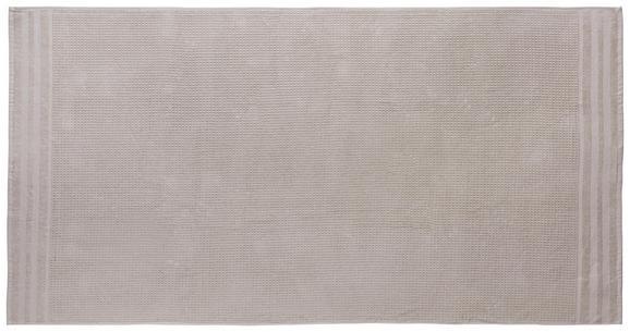 Saunatuch Waffel Beige - Beige, Basics, Textil (90/180cm) - Mömax modern living