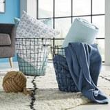 Polár Pléd Trendix - Világoskék, Textil (130/180cm) - Mömax modern living