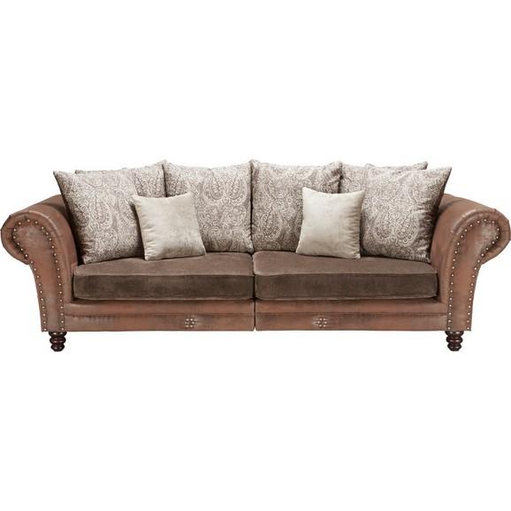 megasofa in braun online kaufen m max. Black Bedroom Furniture Sets. Home Design Ideas