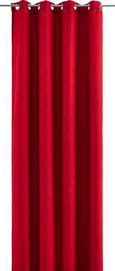 Készfüggöny Ulli - Piros, Textil (140/245cm) - Mömax modern living