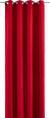 ÖSENVORHANG Ulli Rot ca. 140x245cm - Rot, Textil (140/245cm) - Mömax modern living