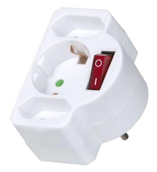 Multifunkciós Elosztó Marian - fehér, műanyag (9/7,5/10cm) - MÖMAX modern living