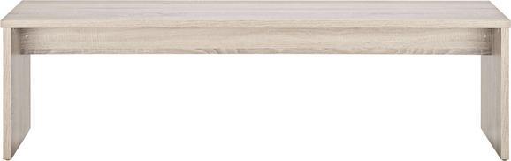 Sitzbank Eiche/trüffel - Trüffeleichefarben, MODERN, Holz/Holzwerkstoff (160/45/37cm) - Based
