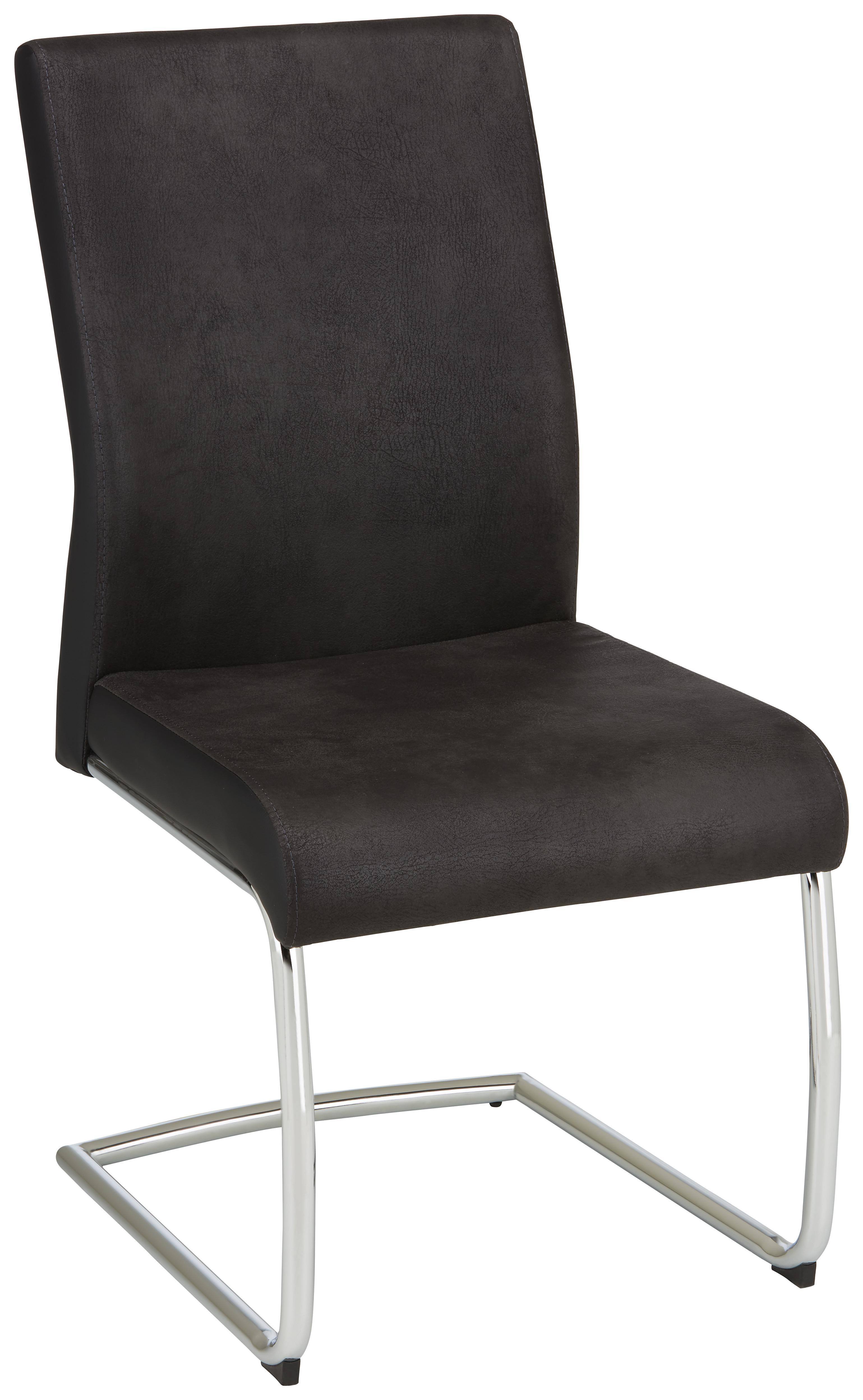Schwingstuhl in grau schwarz for Schwingstuhl schwarz